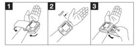 Hướng dẫn sử dụng máy đo huyết áp cổ tay BC-58