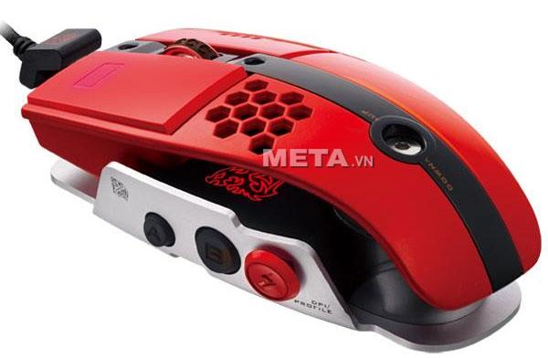 chuột vi tính Tt eSports 10 M Blazing Red MO-LTM009DTL phù hợp chơi game RTS/MMORPG