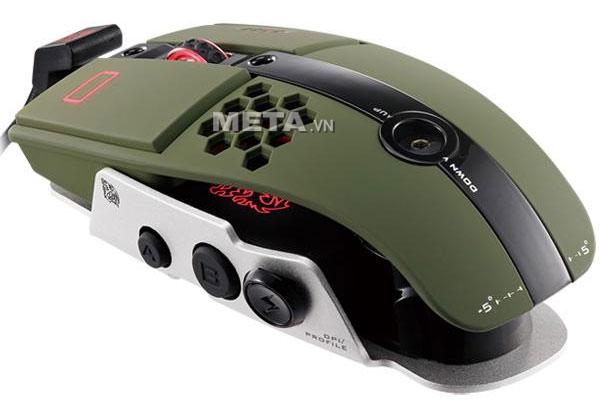 Chuột vi tính Tt eSports Level 10 M Military Green MO-LTM009DTK dành chơi game