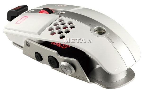 Chuột vi tính Tt eSports 10 M Iron White MO-LTM009DTJ cho phép thay đổi màu đèn led
