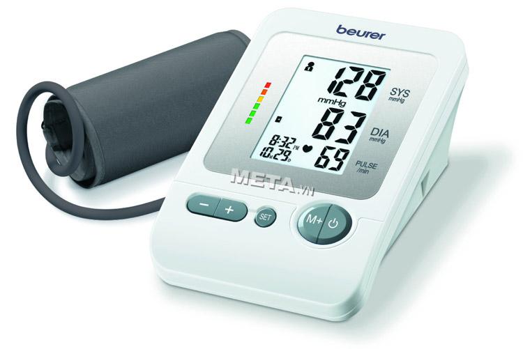 Máy đo huyết áp bắp tay Beurer BM26 dùng đo huyết áp tại nhà