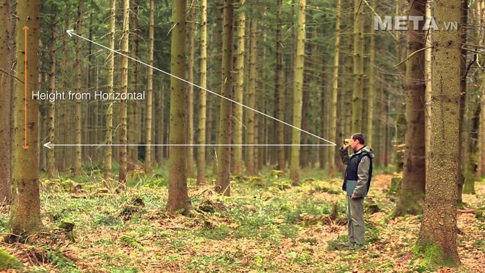 Ống nhòm đo khoảng cách Forestry Pro tiện dụng cho những cuộc khảo sát thi công, xây dựng