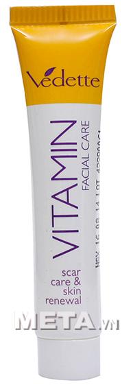 Gel xóa mờ vết thâm và tái tạo da Vitamin Facial Care sử dụng an toàn cho da.