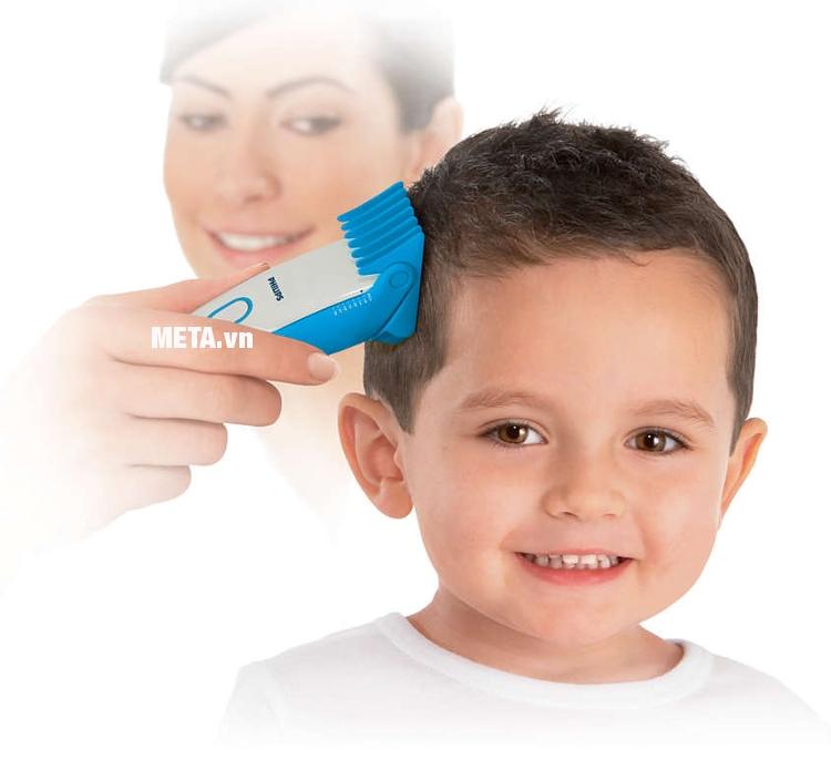 Tông đơ cắt tóc Philips HC3426 giúp cắt tóc cho trẻ em dễ dàng.