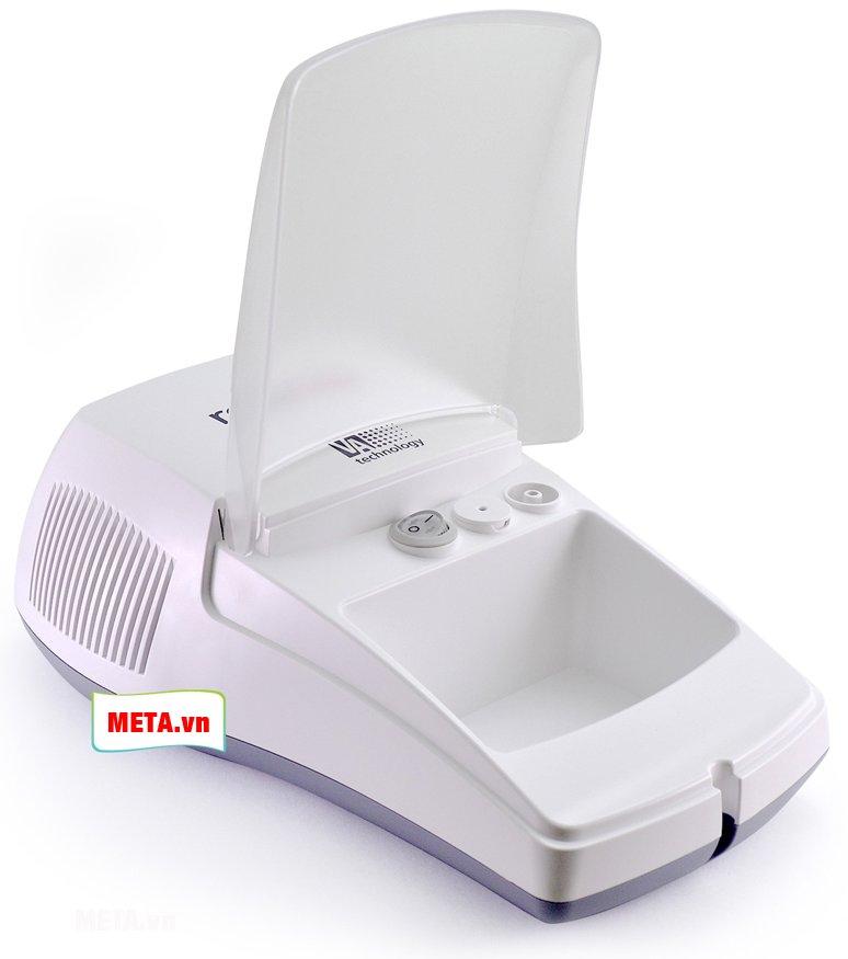 Máy xông khí dung Rossmax NA100 có thiết kế nhỏ gọn với nguyên lý sử dụng đơn giản
