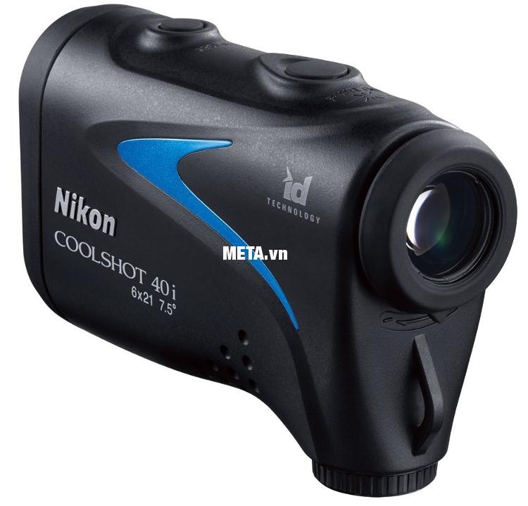 Ống nhòm đo khoảng cách Nikon Coolshot 40i cho khoảng cách đo xa và chính xác tuyệt đối.