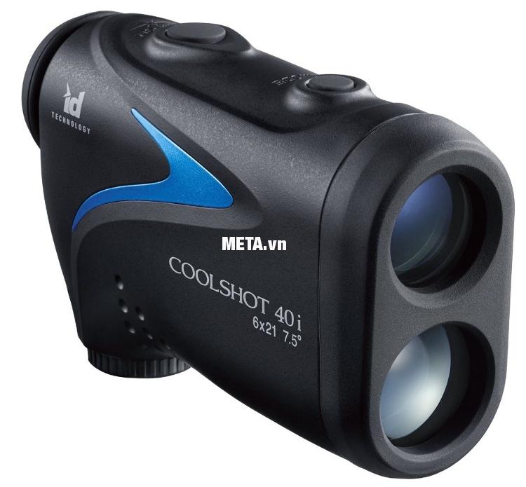 Ống nhòm đo khoảng cách Nikon Coolshot 40i có kiểu dáng hiện đại và sang trọng.