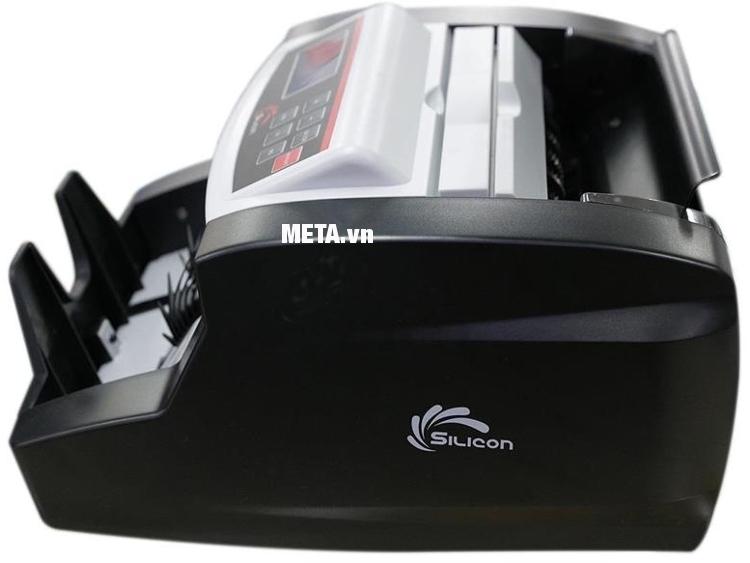 Máy đếm tiền Silicon MC-2700 hoạt động êm ái, tiếng ồn thấp.