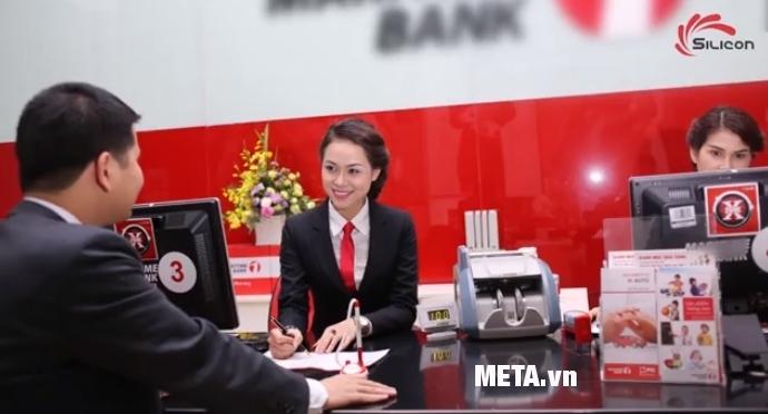 Máy kiểm tra tiền giả UV, MG Silicon MC-181 được nhiều ngân hàng sử dụng.