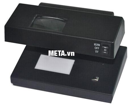 Máy kiểm tra tiền giả UV, MG Silicon MC-181 gọn nhẹ dễ di chuyển.