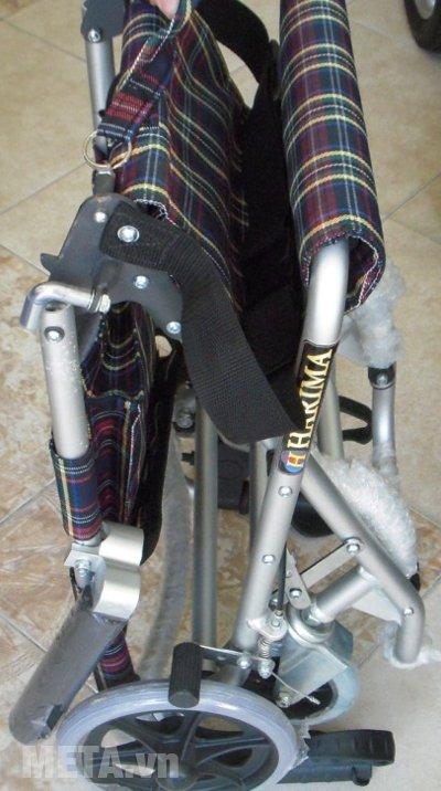 Xe lăn dành cho du lịch W-HA-9001L gấp gọn dễ dàng