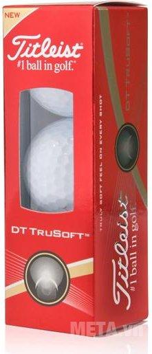Hộp 3quả bóng golf Titleist DT TRUSOFT 2016 T6032S-NP.