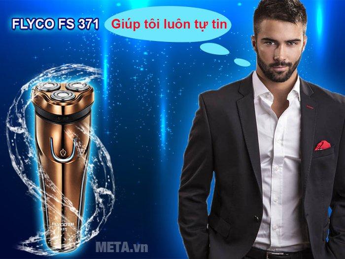 Máy cạo râu Flyco FS 371VN mang đến sự tự tin cho phái mạnh
