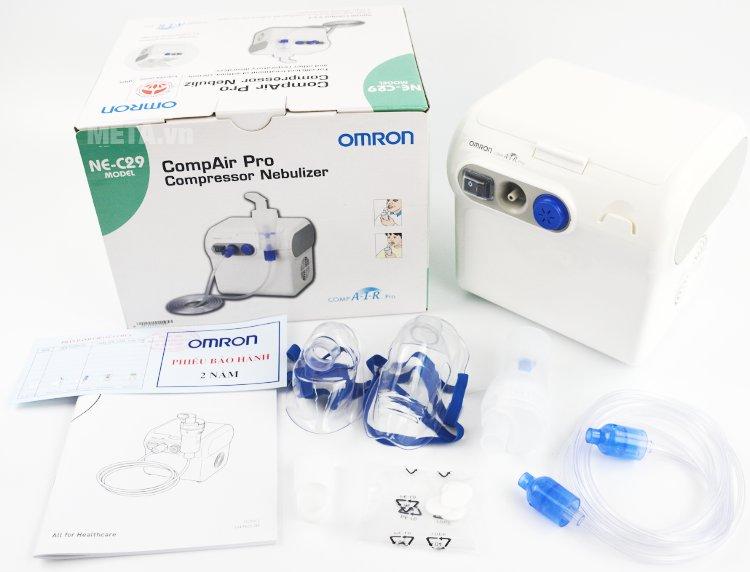 Máy xông mũi họng Omron NE-C29 là phương pháp được sử dụng phổ biến tại các bệnh viện, phòng khám và tại nhà