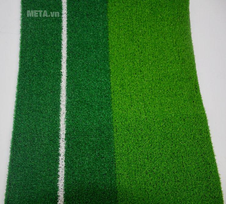Thảm tập golf Putting 2 Color có bề mặt cỏ nhân tạo