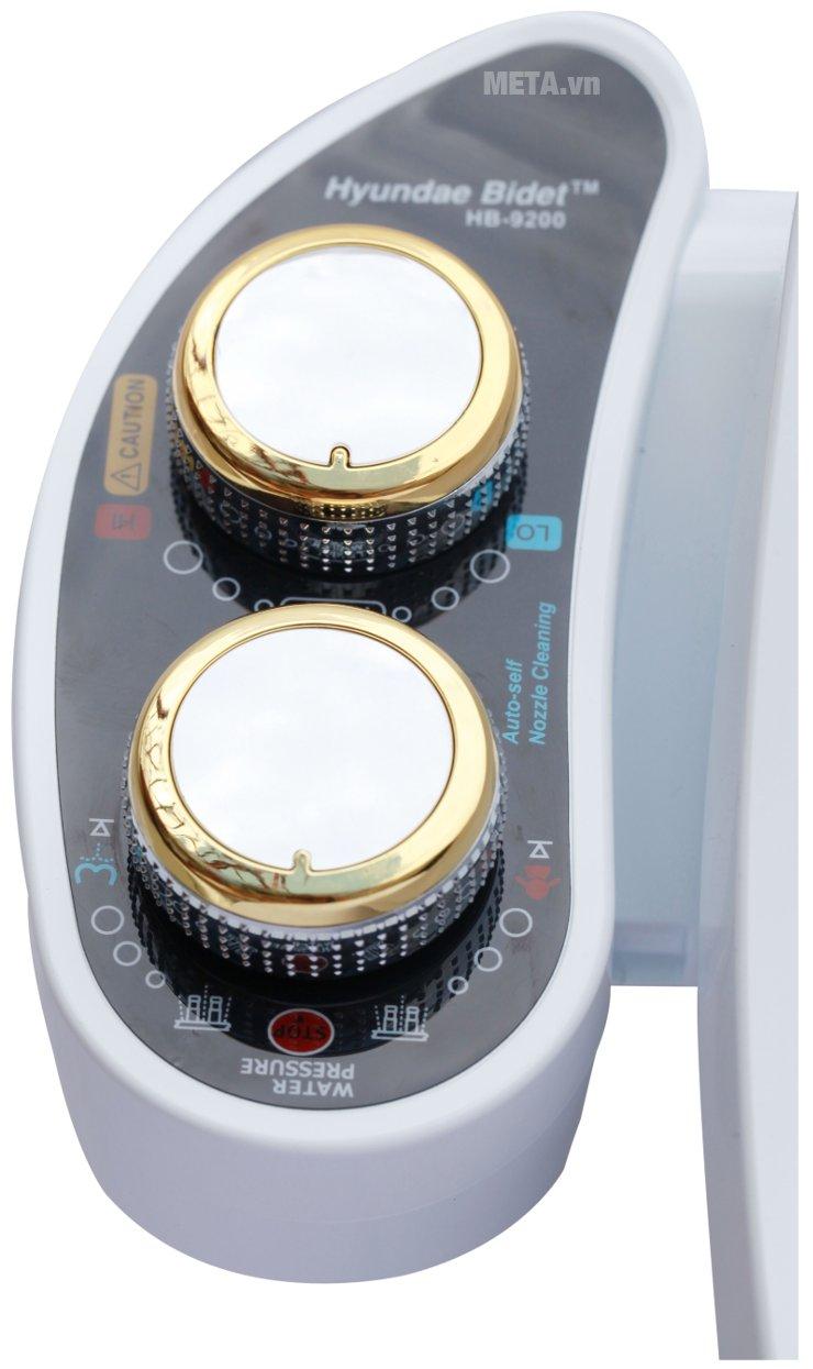 Thiết bị vệ sinh Hyundae Bidet 2 vòi phun HB-9200 điều chỉnh dễ dàng
