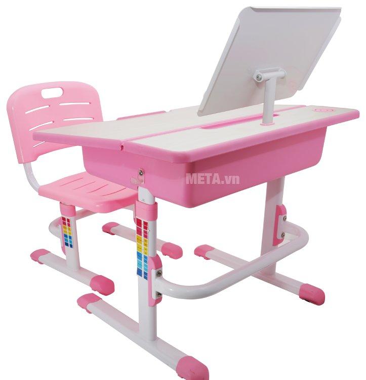 Bộ bàn học thông minh Best Desk Minuet có màu sắc nổi bật, tạo hứng thú cho trẻ khi ngồi học