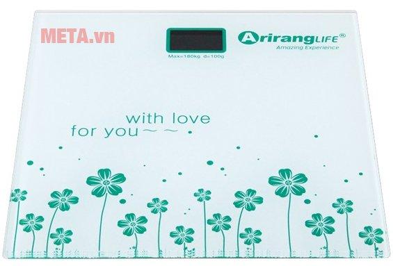 Cân sức khỏe Ariranglife AR-S2016A được thiết kế tiện lợi
