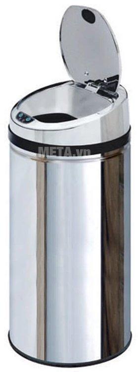 Thùng rác inox tự động Ecolife ECO 802/42L mang lại nhiều tiện lợi cho sống hiện đại