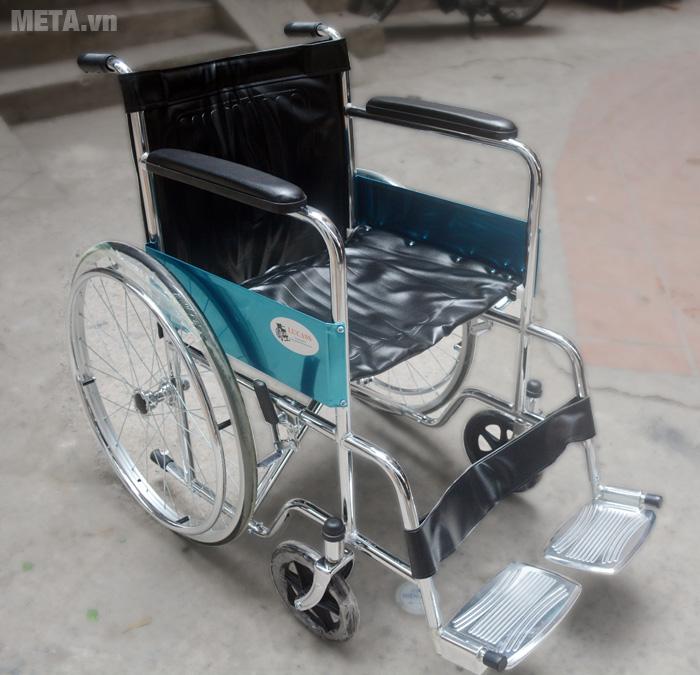 Hình ảnh xe lăn tiêu chuẩn Lucass X9
