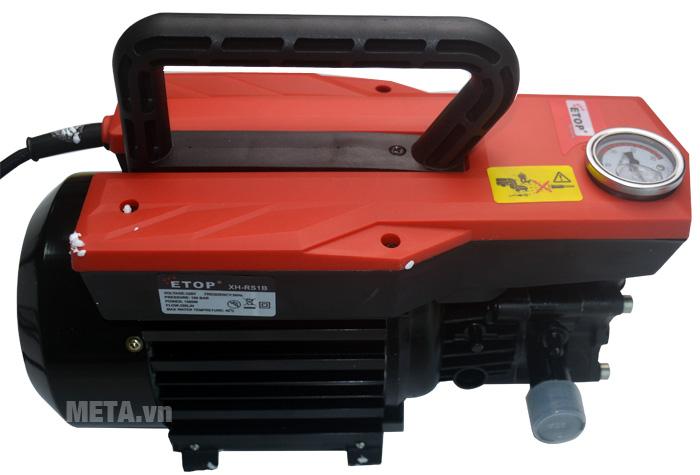 Máy rửa xe ETOP XH-RS1B có thiết kế hiện đại