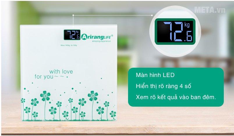 Cân sức khỏe Ariranglife AR-S2016A có màn hình LED