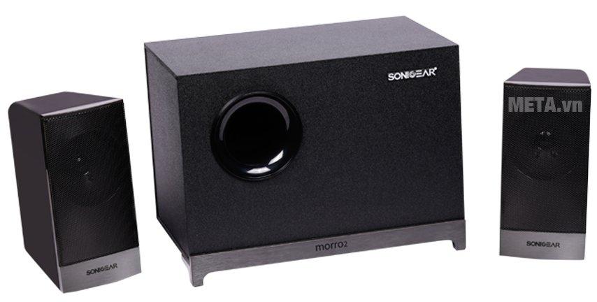 Loa SonicGear Bluetooth Morro 2 BTMI mang đến âm thanh chất lượng