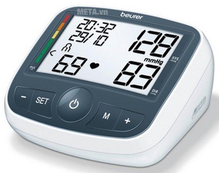Máy đo huyết áp bắp tay Beurer BM40 có màn hình rõ nét