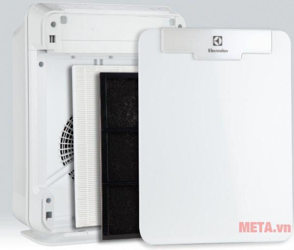 Máy lọc không khí Electrolux EAC415 có bộ lọc hepa chất lượng cao