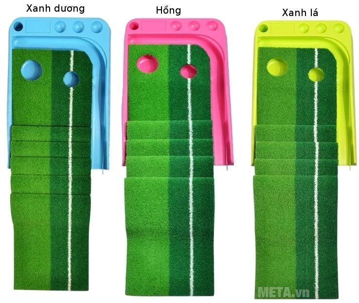 Thảm tập Golf Putting 2 Color có 3 màu cho bạn lựa chọn.