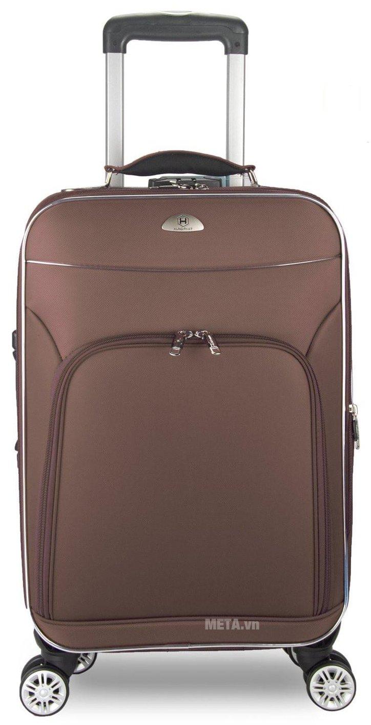 Vali 4 bánh xoay VLX015 28 inch màu nâu