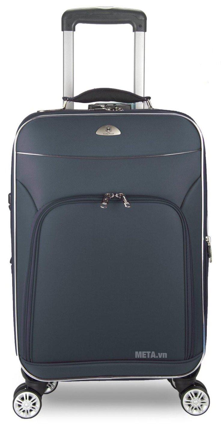 Vali 4 bánh xoay VLX015 28 inch màu xanh
