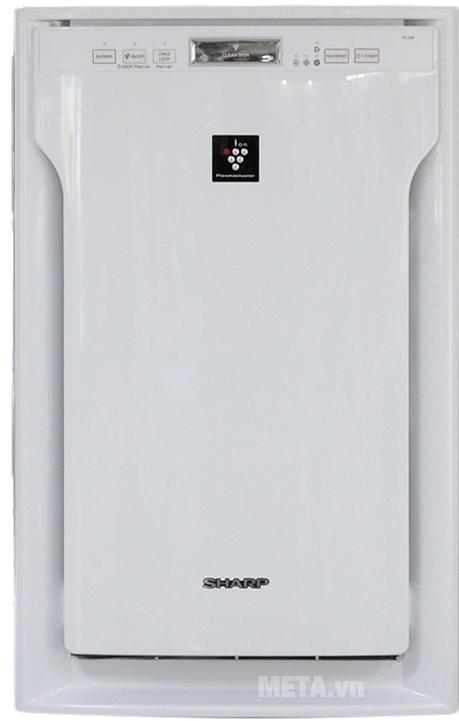 Máy lọc không khí Sharp FU-A80EA-W giúp loại bỏ bụi bẩn, khử mùi một cách nhanh chóng