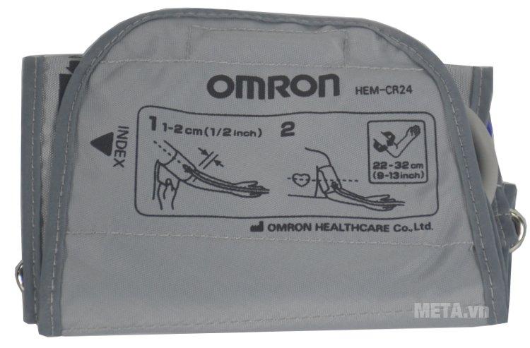 Máy đo huyết áp bắp tay HEM-7130 có kích thước vòng bít 22 - 32 cm