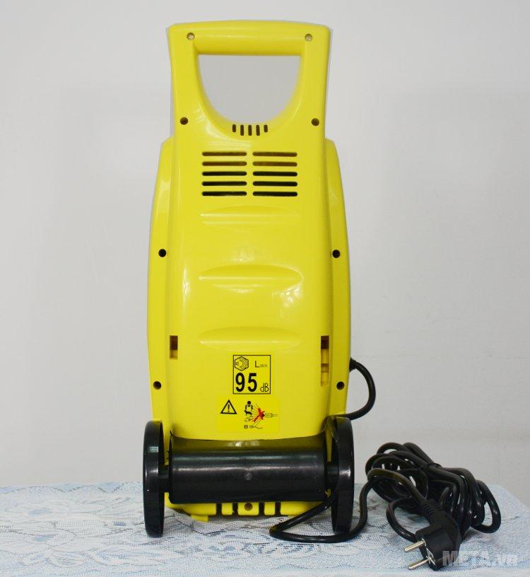 Mặt sau của máy rửa xe cao áp HiClean HC 110