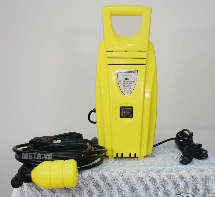 Máy rửa xe cao áp HiClean HC 110 thích hợp rửa xe máy, ô tô tại nhà
