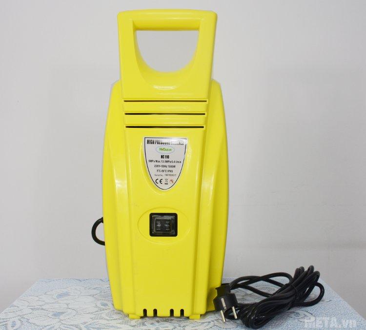 Máy rửa xe cao áp HiClean HC 110 dùng điện áp 220V/50Hz