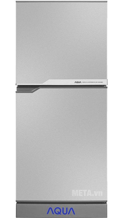 Tủ lạnh Aqua 110 lít AQR-125BN màu bạc