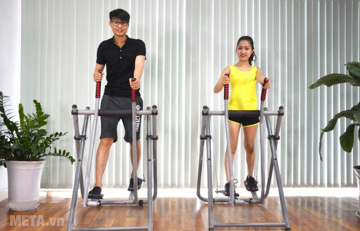 Máy đi bộ trên không Xuki giúp luyện tập cơ thể hiệu quả
