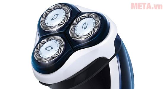 Máy cạo râu Philips AT750 quét sạch lớp râu nhanh chóng mà không gây tổn hại làn da