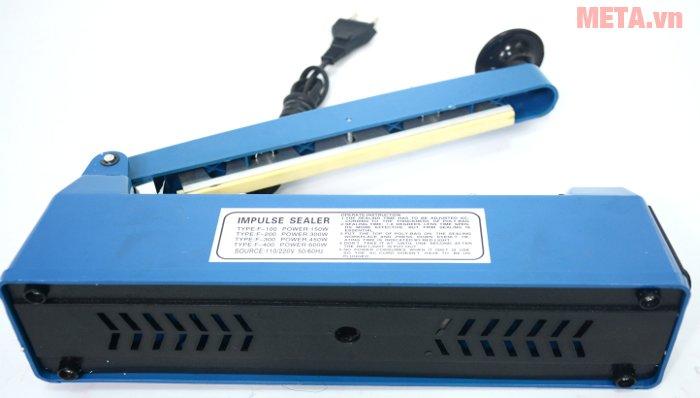 Máy hàn miệng túi bằng tay PFS - 200 có thiết kế chắc chắn