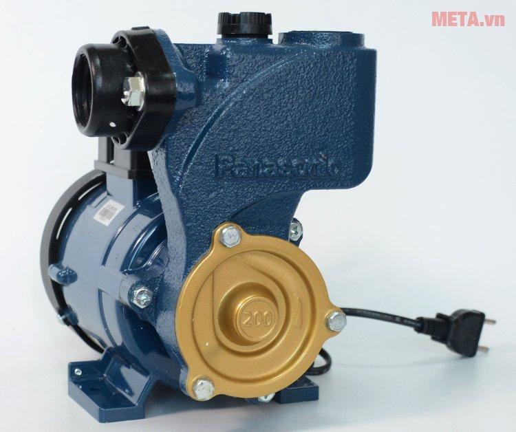 Panasonic GP-200JXK có công suất 200W cho phép bơm nước cực kỳ nhanh giúp bạn không mất nhiều thời gian.