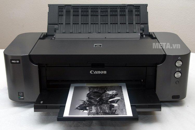 Máy in phun màu Canon PIXMA PRO-10 giúp in ảnh cực kỳ chuyên nghiệp