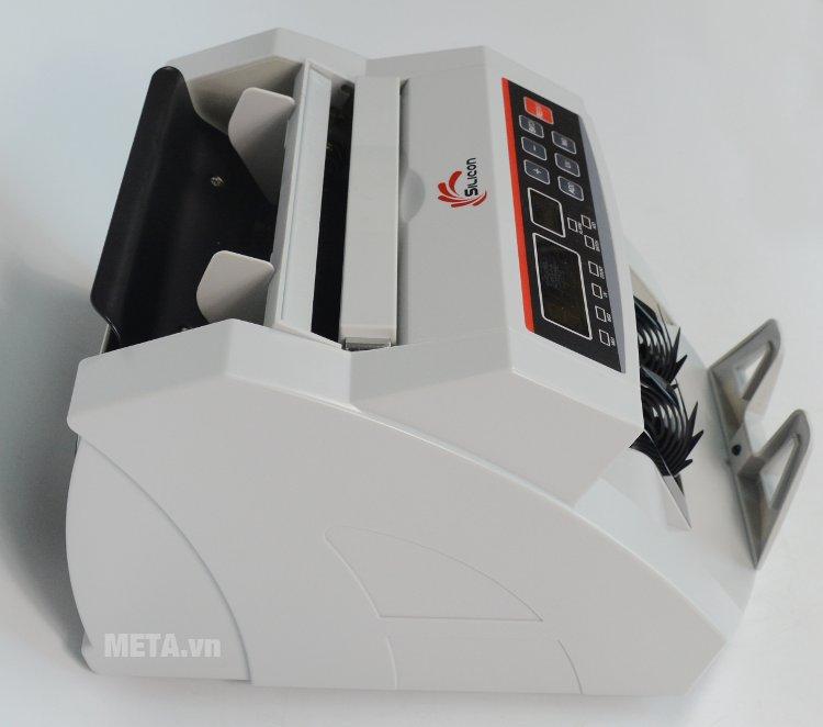 Máy đếm tiền thế hệ mới Silicon MC-2200 tự động đếm tiền giấy và polime và ngoại tệ