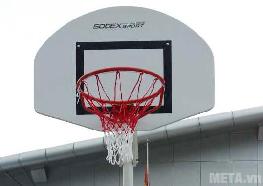 Trụ bóng rổ S14625 có kèm theo lưới bóng rổ