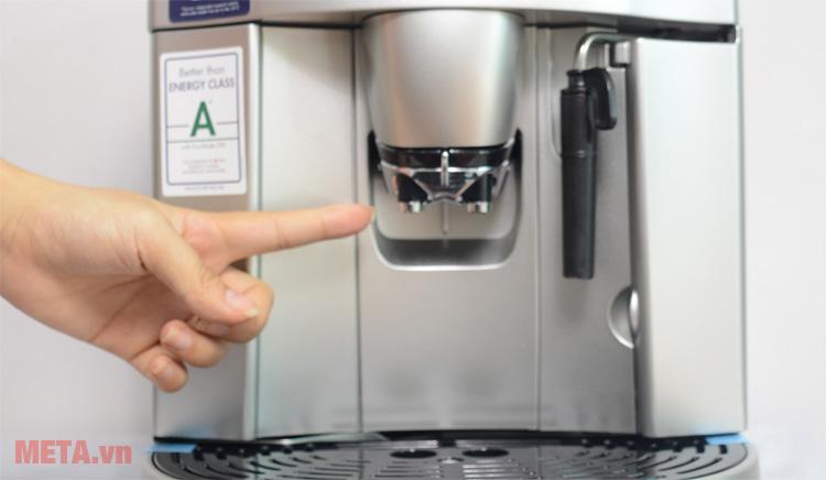 Máy pha cà phê tự động DeLonghi ESAM4200.S có vòi chống nhỏ giọt
