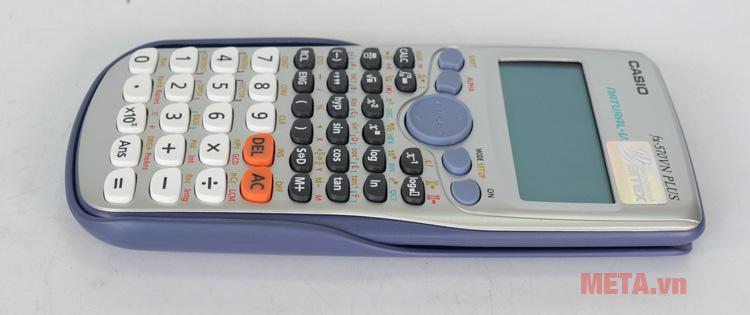 Máy tính bỏ túi Casio FX-570VN Plus có thiết kế nhỏ gọn