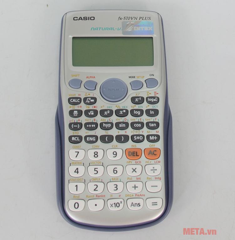 Máy tính bỏ túi Casio FX-570VN Plus có nút ấn dễ dàng sử dụng