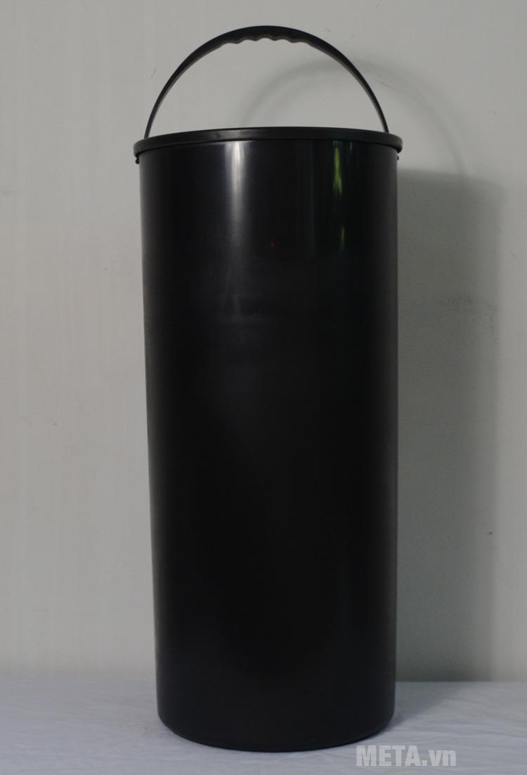 Thùng rác inox Ecolife ECO 802/42L có thùng chứa được làm bằng nhựa cao cấp