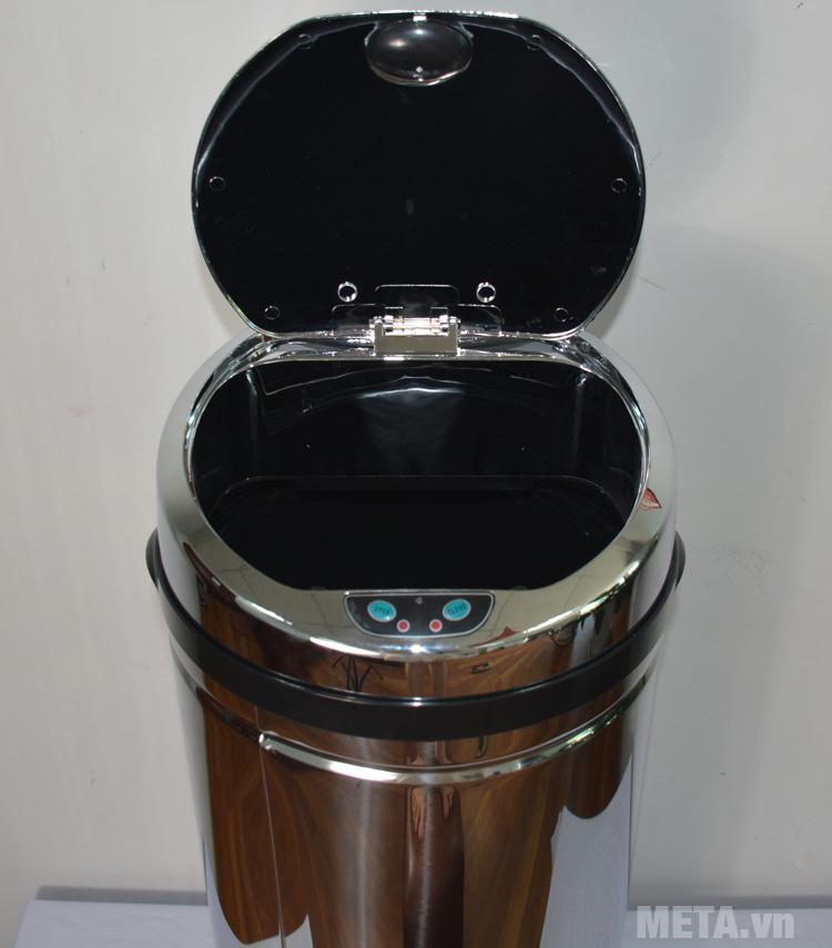 Thùng rác inox Ecolife ECO 802/42L là sản phẩm thông minh tiện ích cho mọi gia đình